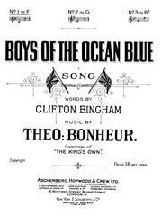 Boys Of The Ocean Blue