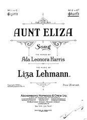 Aunt Eliza