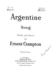 Argentine Song