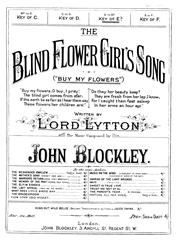 The Blind Flower Girl's Song (