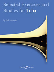 Selected Technical Exercises and Studies for Tuba (E flat) Grade 1