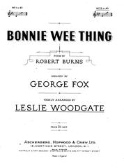 Bonnie Wee Thing