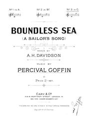 Boundless Sea (A Sailor's Song)