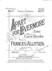 Apart For Evermore