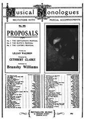 The Gentleman's Proposal