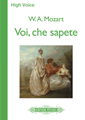 Voi Che Sapete (from The Marriage Of Figaro) Partituras